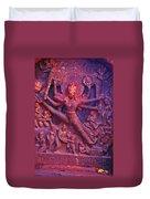 Striding Vishnu Duvet Cover