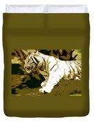 Striking Tiger Duvet Cover