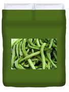 String Beans Duvet Cover