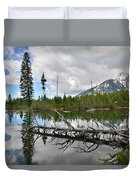 String Lake In Grand Tetons Duvet Cover