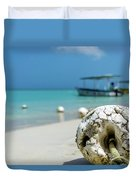 Boats And Buoys Duvet Cover