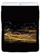Strings Of Light Duvet Cover