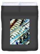 Strings Z100 Abstract Duvet Cover