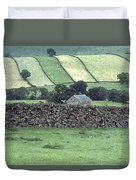 Strip Fields Duvet Cover