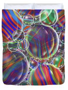 Striped Biggons Marbles Duvet Cover