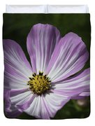Striped Cosmos 1 Duvet Cover by Roger Snyder