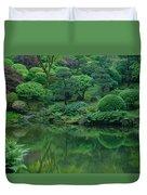 Strolling Pond Serenity Duvet Cover