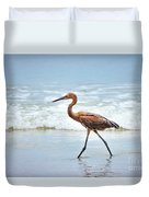 Strolling Duvet Cover by Todd Blanchard