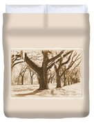 Strong And Proud In The South - Old World Duvet Cover