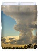 Strong Storms In South Central Nebraska 001 Duvet Cover