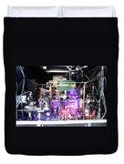 Strontium Atomic Clock Duvet Cover