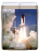 Sts-27, Space Shuttle Atlantis Launch Duvet Cover