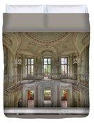 Stucco Villa - Villa Degli Stucchi I Duvet Cover by Enrico Pelos