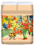 Studio Still Life Duvet Cover