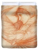 Study For Boreas Duvet Cover