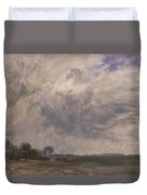 Study Of A Cloudy Sky Duvet Cover