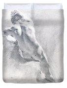 Study Of A Male Nude Duvet Cover