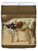 Study Of A Young Bull Duvet Cover