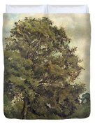 Study Of An Ash Tree Duvet Cover
