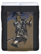 Study Of Perseus In Armour For The Finding Of Medusa Duvet Cover