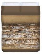 Study Of Waves Duvet Cover