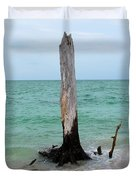 Stump Pass Tree In Color Duvet Cover