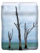 Stump Pass Triplets Duvet Cover