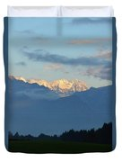 Stunning Photo Of The Countryside With Mountains  Duvet Cover