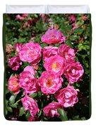 Stunning Pink Roses Duvet Cover