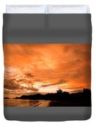 Stunning Tropical Sunset Duvet Cover