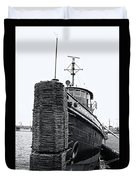 Sturgeon Bay Tug Boat Duvet Cover