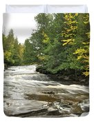 Sturgeon River Duvet Cover