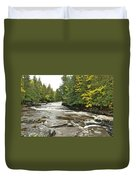 Sturgeon River Duvet Cover