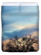 Subdued Sunset Duvet Cover