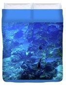 Submarine Underwater View Duvet Cover