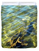 Submerged Tree Abstract Duvet Cover
