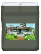 Suburban Arts And Crafts House Hayward California 8 Duvet Cover
