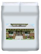 Suburban Arts And Crafts Style House Hayward California 15 Duvet Cover