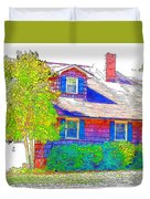 Suburban Home 4 Duvet Cover