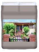 Suburban House Hayward California 38 Duvet Cover