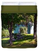 Suburban House Duvet Cover