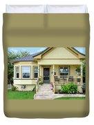 Suburban Victorian Cottage House Hayward California 37 Duvet Cover