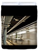 Subway Blur Duvet Cover