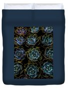 Succulent Duvet Cover by Rod Sterling