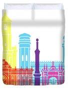 Sucre Skyline Pop Duvet Cover