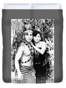 Sucua Shaman And Spouse Duvet Cover
