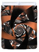 Suede Spiral Duvet Cover