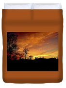 Suffused With Harmony Duvet Cover