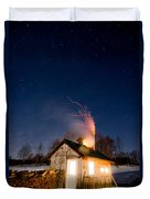 Sugaring Time Duvet Cover