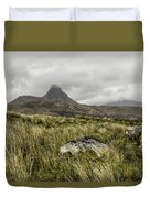 Suilven Mountain Duvet Cover